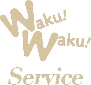 WakuWaku!service